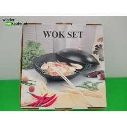 WOK mit Deckel Set - NEU