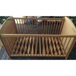 Holz Kinderbett-...