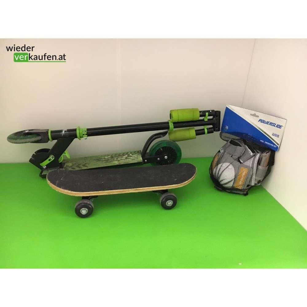 kinder roller skatebord sch tzer set. Black Bedroom Furniture Sets. Home Design Ideas