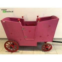 Holz Bollerwagen- Kutsche