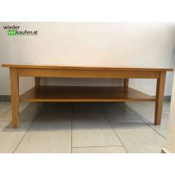 Holz- Couch/Tv Tisch mit Fach
