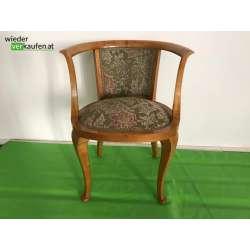 Stil Sessel mit Stoffbezug