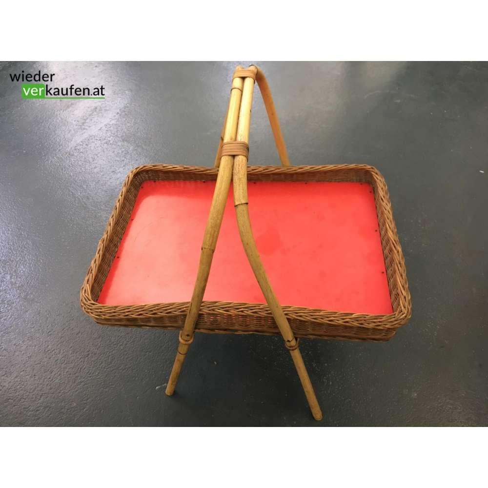 bambus tablett aus den 1970ern. Black Bedroom Furniture Sets. Home Design Ideas