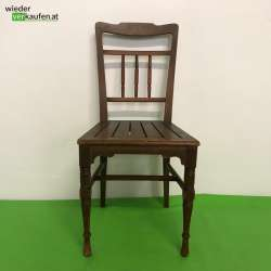 Holz Sessel mit Verstrebungen