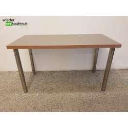 IKEA Tisch mit verchromten...
