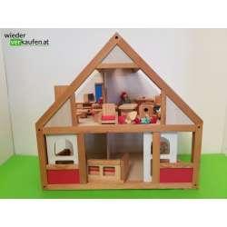 Puppenhaus Set aus Holz und...