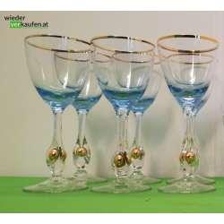 """Gläser """"Golden Zuzana"""",..."""