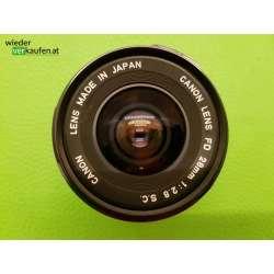 Canon FD 28mm Objektiv