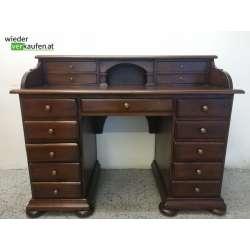 Schreibtisch Nuss massiv