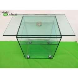 TV-Tisch aus Glas mit...