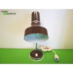 Vintage Tischlampe in braun