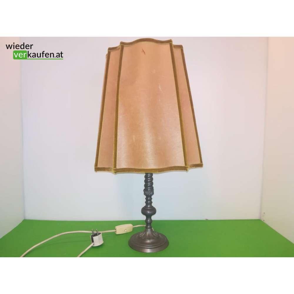Vintage Stehlampe Mit Zinnfuss