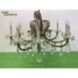 9 flammiger Kristallluster