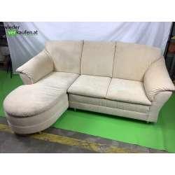 Schöne cremefarbene Couch...