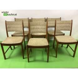 Sechs Vintage Stühle von...