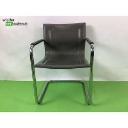 Vintage Freischwinger-Stuhl...