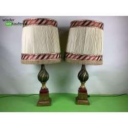 Imposante hohe Tischlampe...