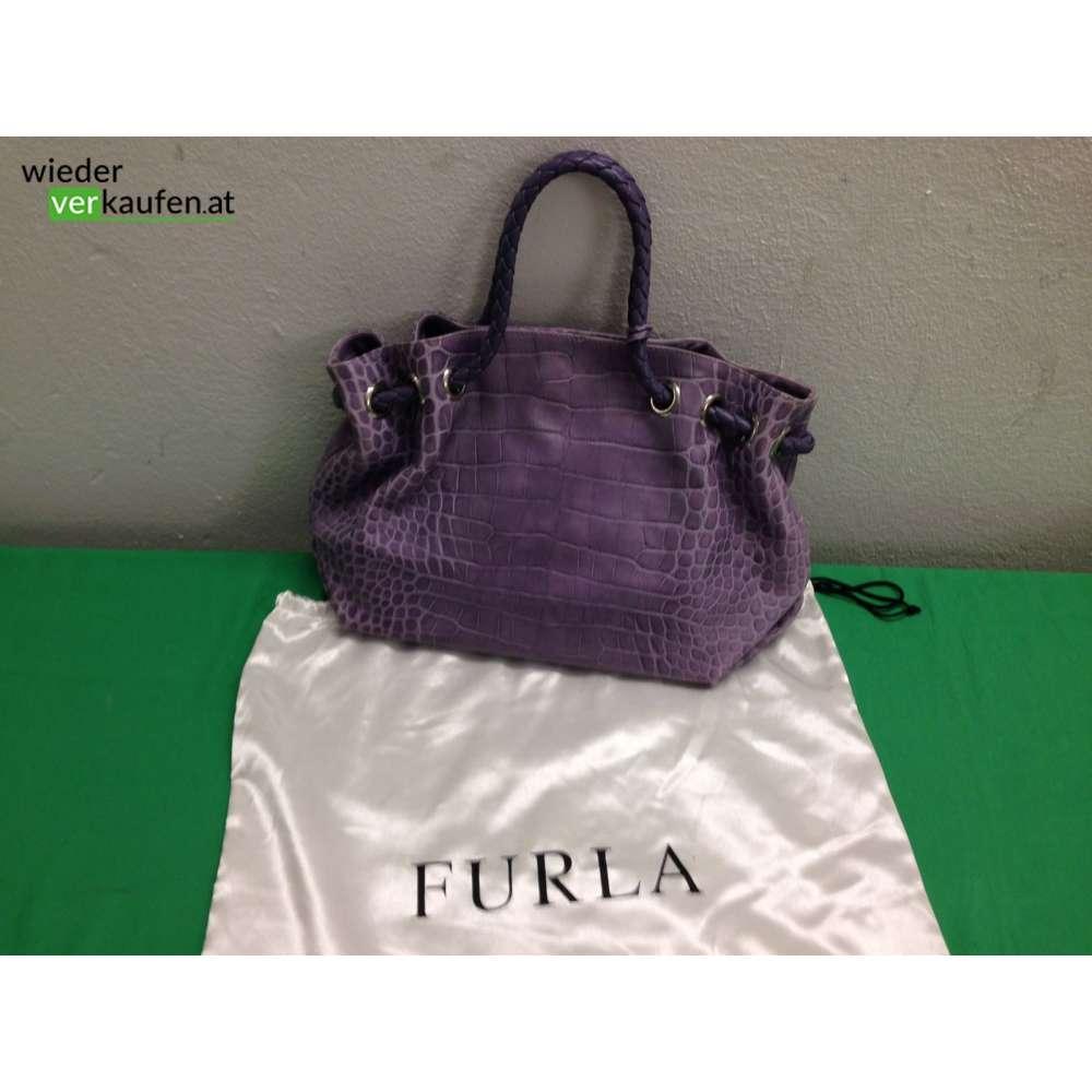 d6590ed6a9c0e Furla Handtasche Flieder
