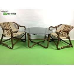Bambus Sitzgarnitur um 1960