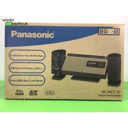 Neuwertige Panasonic SC-HC...