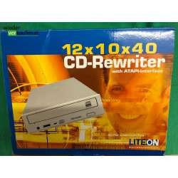 Lite on CD Rewriter 12x 10x...