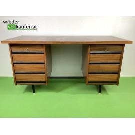 Vintage Schreibtisch mit 8...