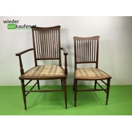Edle, antike Stühle für...