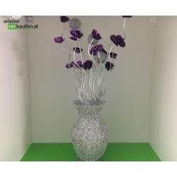 LED Blumen Glas Deko Leuchte