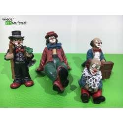 Gilde Clown- Set 4 Stück